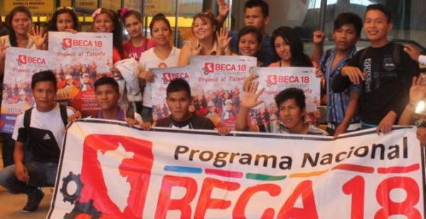Beca 18 Peru